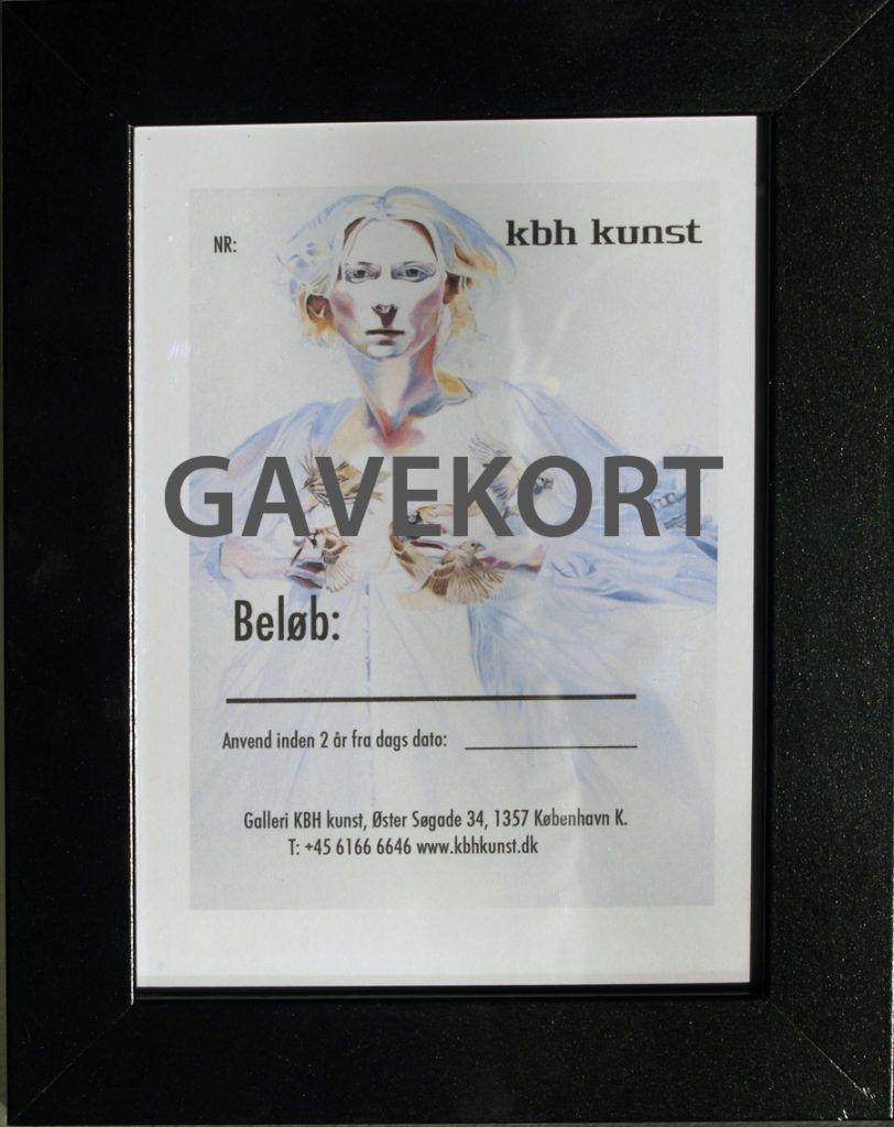 Gavekort galleri kbh kunst