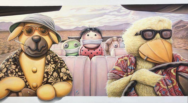 Bear and loathing, Brian Saaby, Galleri kbh kunst