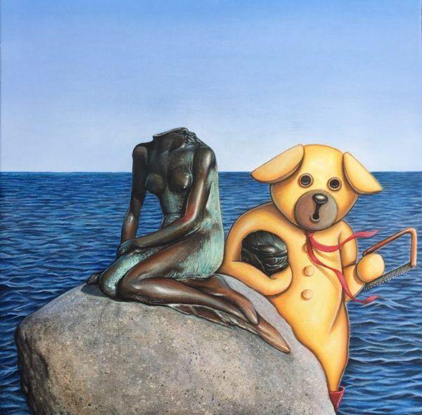 Don't take my fame away, Brian Saaby, Galleri kbh kunst