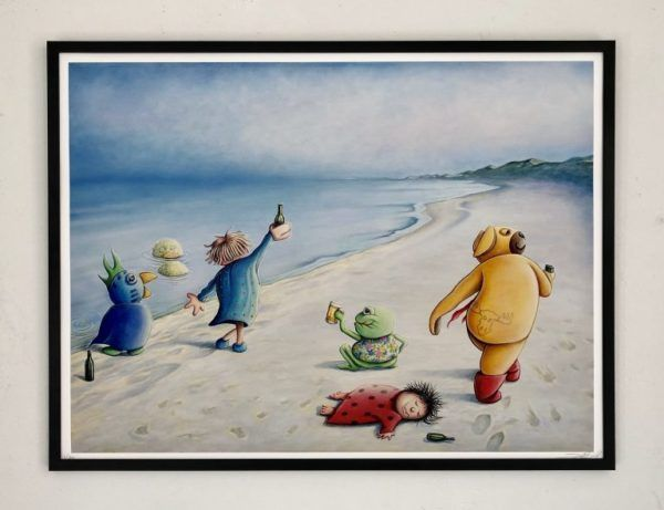 En sommeraften i Skagen, Galleri kbh kunst, Brian Saaby