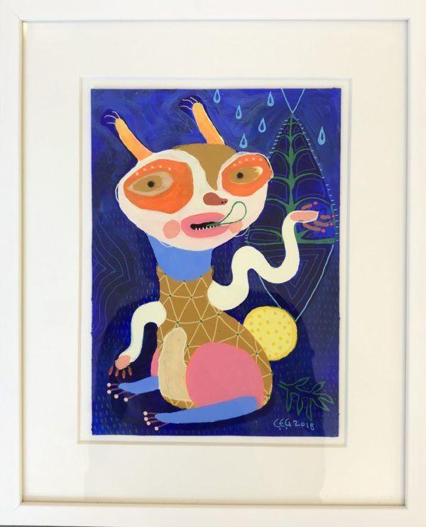 Christina Elvira Godsk, galleri kbh kunst