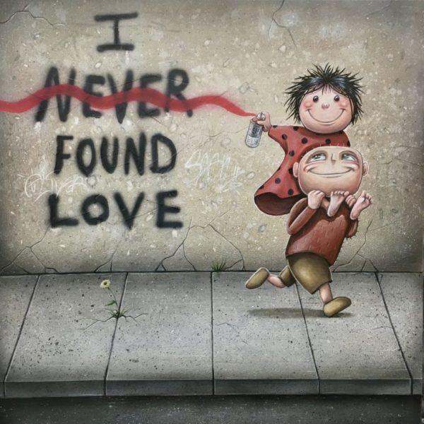 I found love, Brian Saaby, Galleri kbh kunst