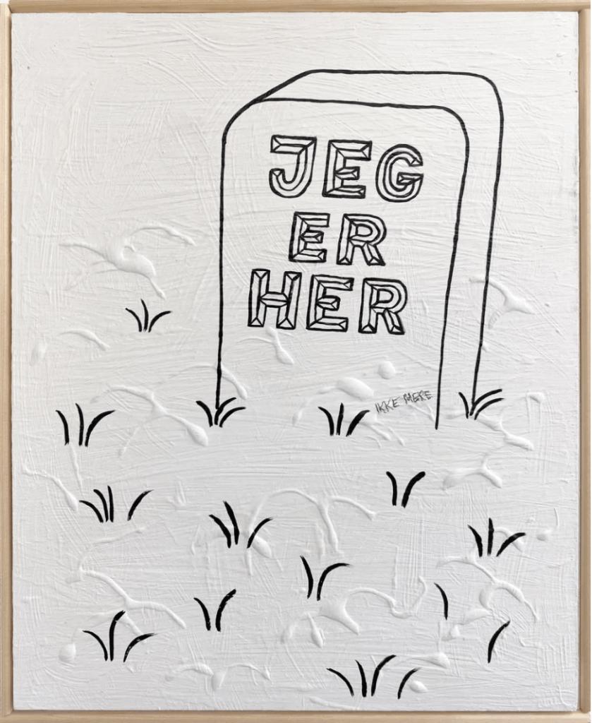 Morten Hemmingsen Sørup, Galleri, kbh, kunst