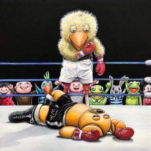 Rumble in the jungle, Brian Saaby, Galleri kbh kunst