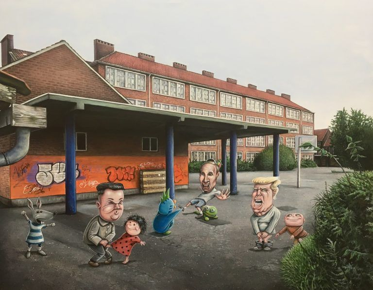 The schoolyard bully, Brian Saaby, Galleri kbh kunst