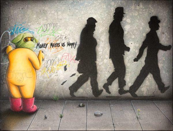 The street artist, Brian Saaby, Galleri kbh kunst