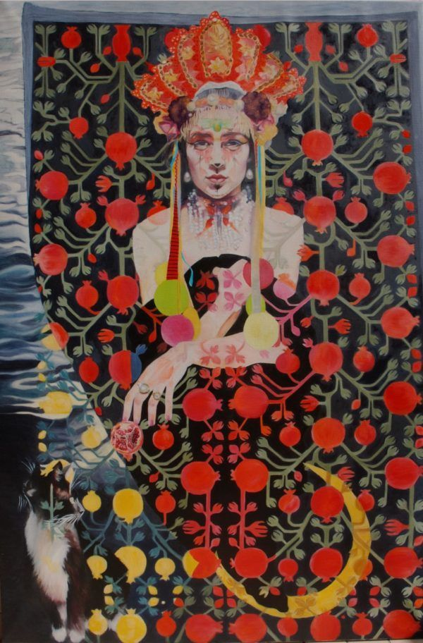 Persephone, Myra Sjöberg, Galleri kbh kunst