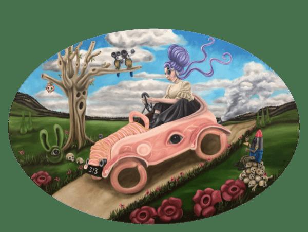 Kitt Buch, The Meatmobile, Galleri kbh kunst