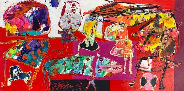 Finn Sørensen, galleri kbh kunst