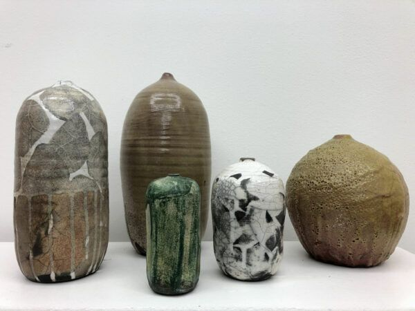 Berit Amdi Jakobsen, Galleri kbh kunst, raku vase