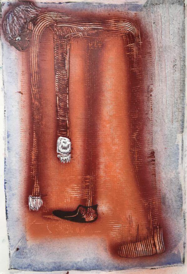 A devastated man, Thomas Plauborg, Galleri kbh kunst