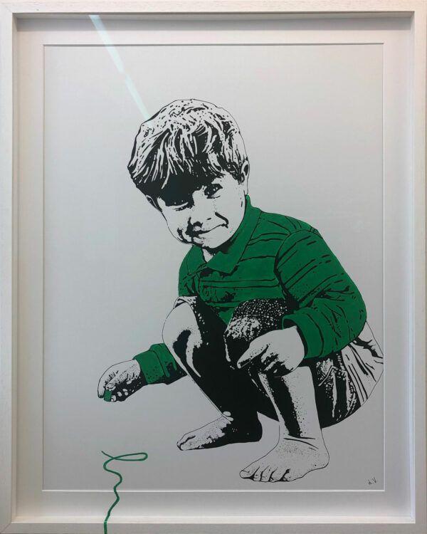 Lise Vestergaard, Jeg tager skraldet, galleri kbh kunst