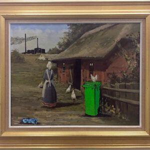 Lise Vestergaard, Peasant wife, trash art, Galleri kbh kunst